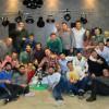 """El Castellnovo C. F. celebra """"en lo más alto"""" la cena de Navidad"""