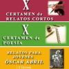 Finalistas de X Certamen Literario de Alfambra (Teruel)