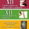 XII Certamen Literario (Relato y Poesía) ALFAMBRA 2018