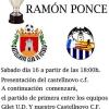 """Castellnovo C. F. y Gilet U.D. en el V trofeo """"Ramón Ponce"""""""
