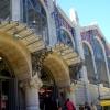 Marichu en el Mercado Central de Valencia