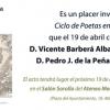 Pedro de la Peña estará en el Ateneo – El Ventanuco