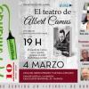 """""""El Teatro de Albert Camus"""" de M. Luisa Rivera – El Ventanuco"""