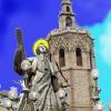 San Vicente nombrado patrón de Valencia por el Rey Jaume I
