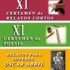 XI Certamen Literario (Relato y Poesía) ALFAMBRA 2017