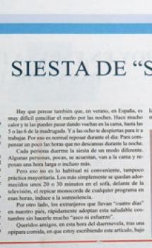 Periódico Granada Costa, publicado agosto 2021