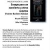 """""""Ensayo para un concierto y otros sonetos"""" de V. Barberá"""