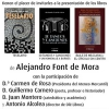 Alejandro Font de Mora presenta 3 libros – El Ventanuco