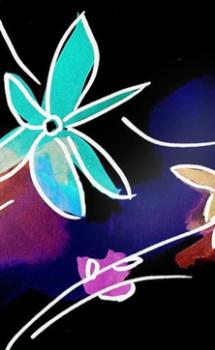 Serie ModernArte (Pinturas de FLORES al gusto)