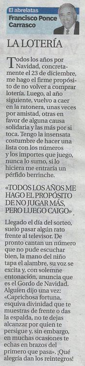 El Abrelatas columna de Francisco Ponce