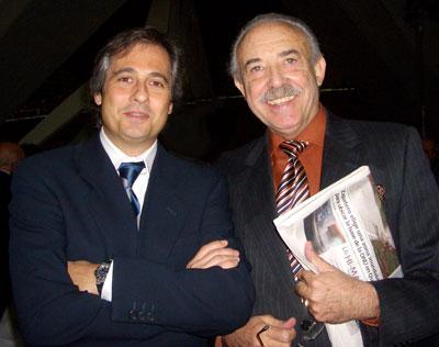 Chimo Rovira  y Francisco Ponce