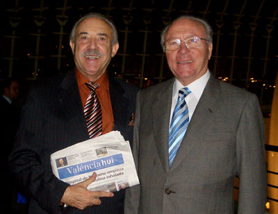Hector Gimeno  y Francisco Ponce