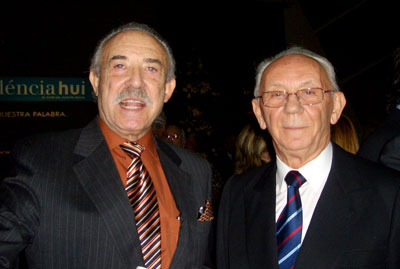 Juan Lladro  y Francisco Ponce