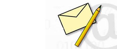Cartas y e-mail