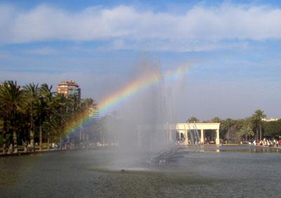 Frabricando un arco iris