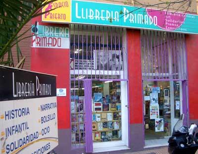 Entrada a la libreria Primado