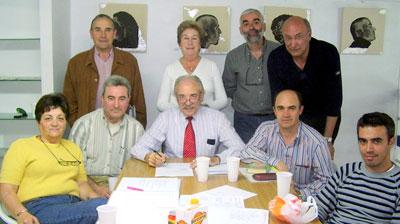 Junta ordinaria del grupo literario de Alfambra