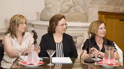 Isabel Alamar, Gloria de Frutos y Maria Garcia Lliberos