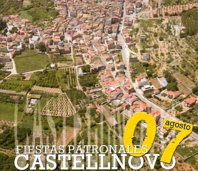 Cartel de fiestas de Castellnovo 2007