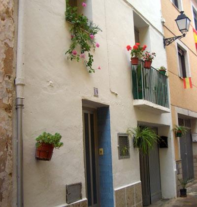 Calle del Carmen en Castellnovo