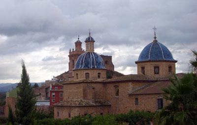 Amenazando lluvia en Castellnovo