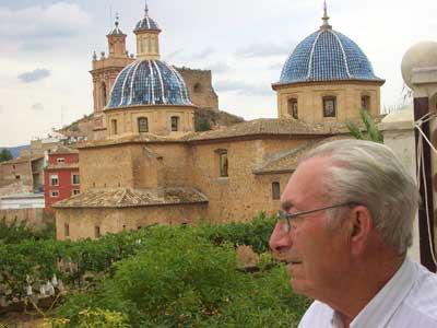 Perspectiva de la Iglesia de Castellnovo