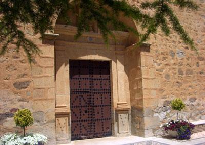 Puerta de entrada a la Ermita Virgen del Molino