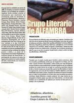 Alfambrino, Grupo literario