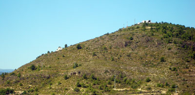 Vista panoramica de las Ermitas de Castellnovo