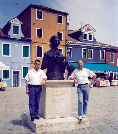 Visitando la isla de Burano