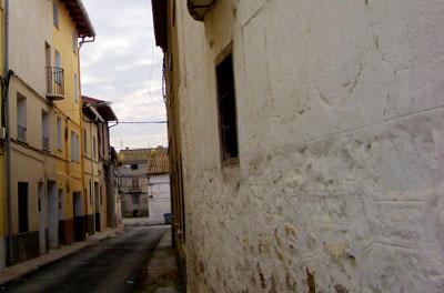 Vista de la calle San Antonio en Santa Eulalia