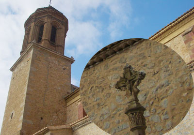 Cruz terminal de la Iglesia de la Inmaculada de Santa Eulalia del Campo