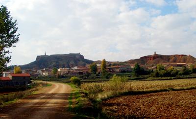 Panoramica de la localidad de Alfambra
