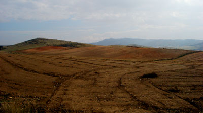 Paisaje de las tierras de Alfambra
