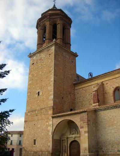 Torreon de la Iglesia de la Inmaculada de Santa Eulalia del Campo