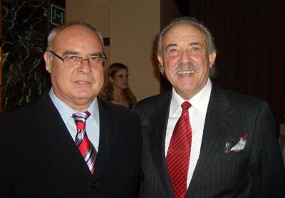 Baltasar Bueno, director de Valencia hui y Francisco Ponce escritor de la cabecera del Ventanuco