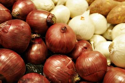 Cebollas de colores