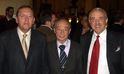 Leopoldo Boinas, Ricardo Lliso y Francisco Ponce