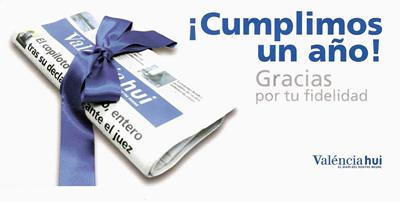 Valencia hui es un regalo para el lector