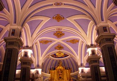 Boveda de la ermita Virgen del Molino