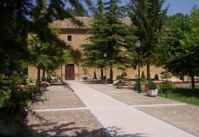 Entrada a la ermita Virgen del Molino