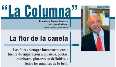 Cabecera de la Columna en la revista Horticultura