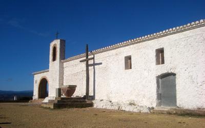 Fachada de la Ermita San Cristobal