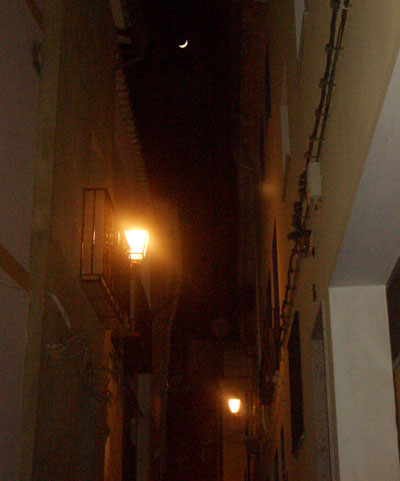 Luna en Castellnovo