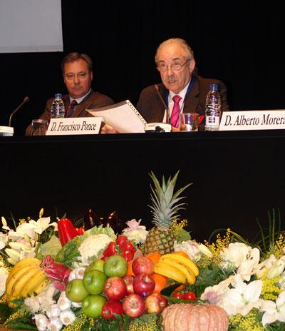 Francisco Ponce durante su ponencia