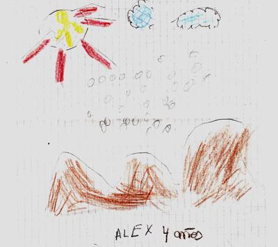 Alex de 4 años