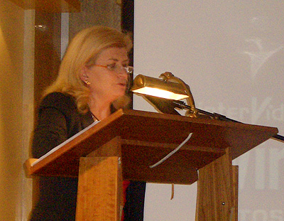 Carmen Gimeno presentadora del evento