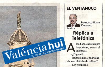 Replica a Telefónica – El Ventanuco
