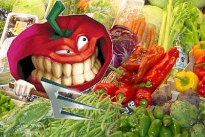 La rebelion de las hortalizas