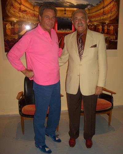 Arturo Fernandez y Francisco Ponce